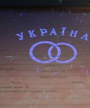 Диплом - микро ворс в УФ (Полтава)